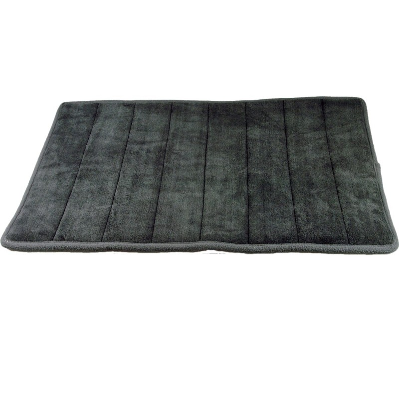 tapis de bain m moire de forme 43 x 61cm galets. Black Bedroom Furniture Sets. Home Design Ideas