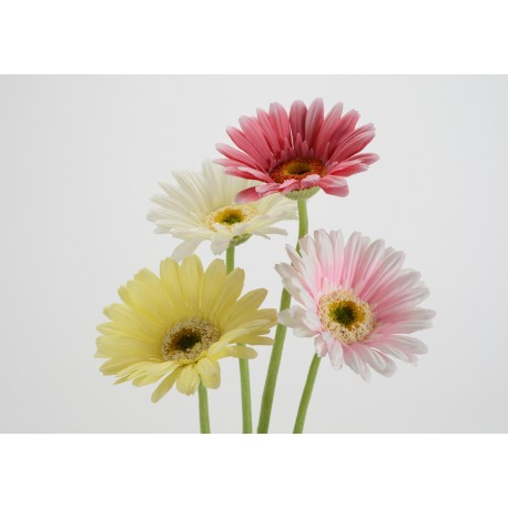 Fleur artificielle Gerbera Parade h61 cm Amadeus