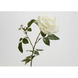 Fleur artificielle Rose Névada h 56 cm Amadeus