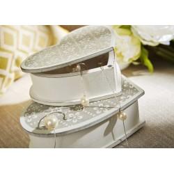 Set de 2 boites à bijoux coeur Amadeus