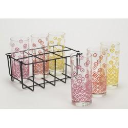 Coffret 6 verres limonade picnic Amadeus