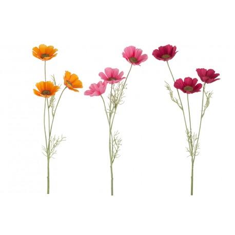 Fleur Artificielle Cosmos H50 Cm Amadeus