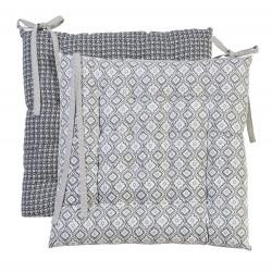 Galette de chaise Hacienda 40 x 40 cm Déco&co