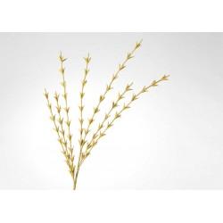 Tige fleur artificielle Tikita moutarde h 150 cm Amadeus