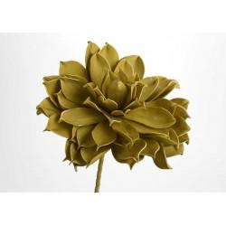Fleur artificielle Jada moutarde H 80 cm Amadeus