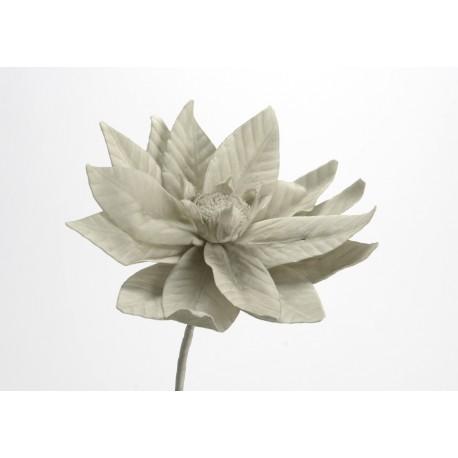 Fleur Artificielle Loola Grise H 85 Cm Amadeus