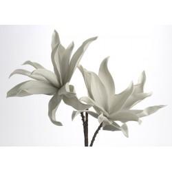 Fleur artificielle Viva grise H 98 cm Amadeus