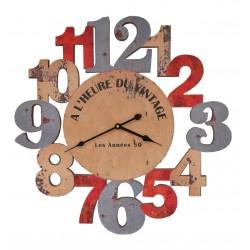 Horloge Al'heure du vintage Antic-Line