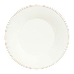Assiette plate Constance ivoire D28.5 cm Côté Table