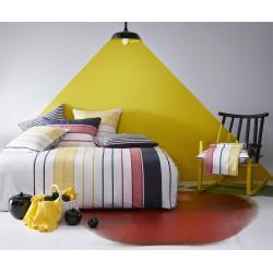 Taie d'oreiller Escale blanc 64 x 64 cm Essix