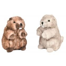 Peluche Marmottes toudoux La maison de Lilo
