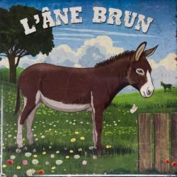"""Dessous de plat """"L'âne brun"""" Editions du Marronnier"""