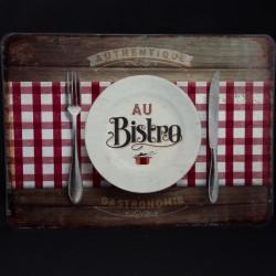 """Set de table """"Au bistrot"""" 30 x 42 cm collection Editions du Marronnier"""