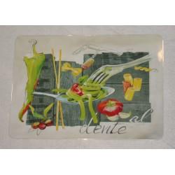"""Set de table """"Al dente"""" 30 x 42 cm collection Editions du Marronnier"""