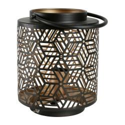 Lampe lanterne Losange H 22 cm Sema