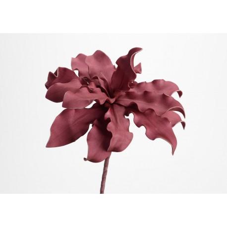 Fleur artificielle Cumbia prune h54 cm Amadeus