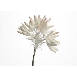 Fleur artificielle Cala irisé gris H91 cm Amadeus