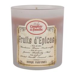 Bougie parfumée Fruits d'épices