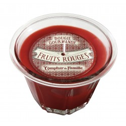 Bougie parfumée Fruits rouges, 220 gr