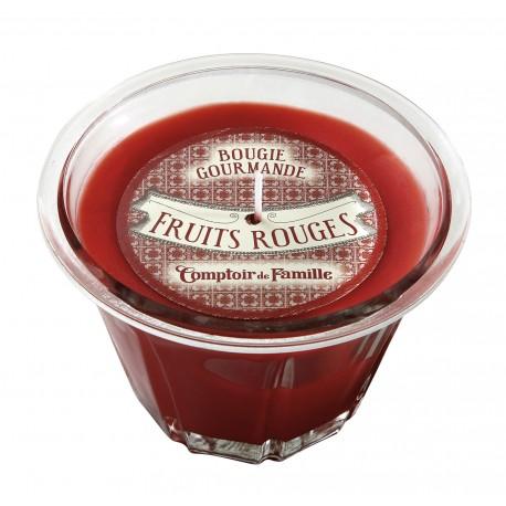 Bougie parfumée Fruits rouges, 220 gr