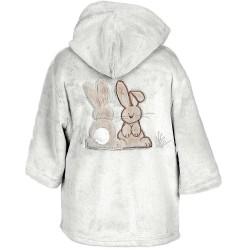 Peignoir polaire enfant Pompon le lapin de 2 à 6 ans Senseï
