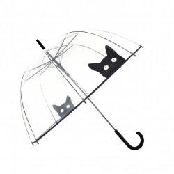 Parapluie transparent Chat Smati
