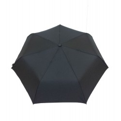 Parapluie pliable noir Smati