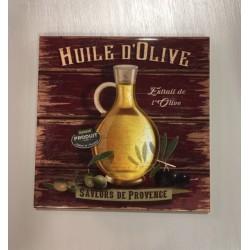 """Dessous de plat """"L'olive"""" collection Editions du Marronnier"""