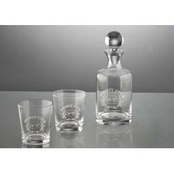 Coffret carafe + 2 verres whisky Amadeus