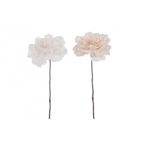 Fleur artificielle rose H 56 cm Jolipa