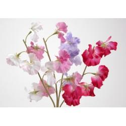 Fleur artificielle Pois de senteur H 45 cm Amadeus