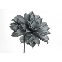 Fleur artificielle Jada bleue H 80 cm Amadeus