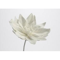 Fleur artificielle Loola blanche h 85 cm Amadeus