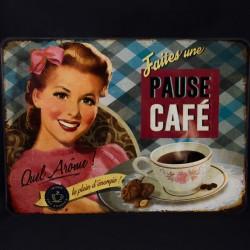 """Set de table """"Pause café"""" 30 x 42 cm collection Editions du Marronnier"""