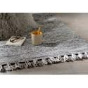Tapis Chenille gris 60 x 90 cm amadeus