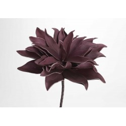 Fleur artificielle Villa prune h70 cm Amadeus