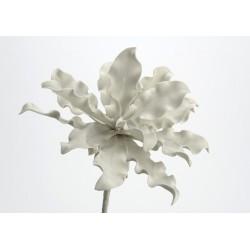 Fleur artificielle Cumbia gris clair h54 cm Amadeus