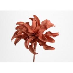 Fleur artificielle Cumbia terracotta h54 cm Amadeus