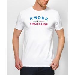 """Tee-shirt homme """"Amour à la Française"""" Monsieur Tshirt"""