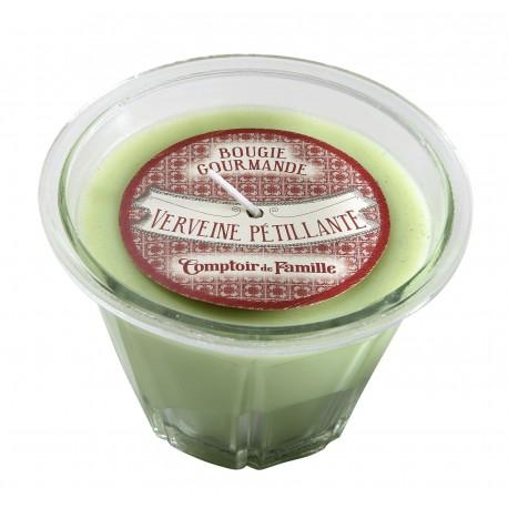 Bougie parfumée Verveine pétillante, 220 gr