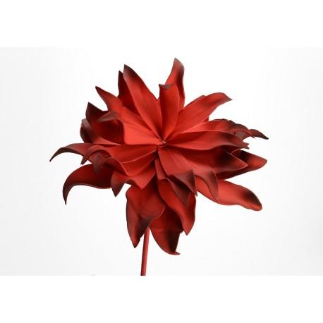 Fleur artificielle Villa rouge h70 cm Amadeus