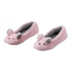 Ballerines, chaussons souris rose La maison de Lilo