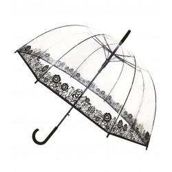 Parapluie transparent Dentelle Smati