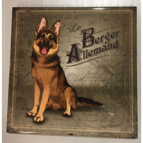 "Dessous de plat ""Le Berger Allemand"" Editions du Marronnier"
