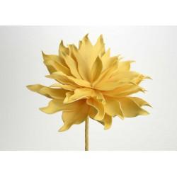 Fleur artificielle Villa jaune h70 cm Amadeus