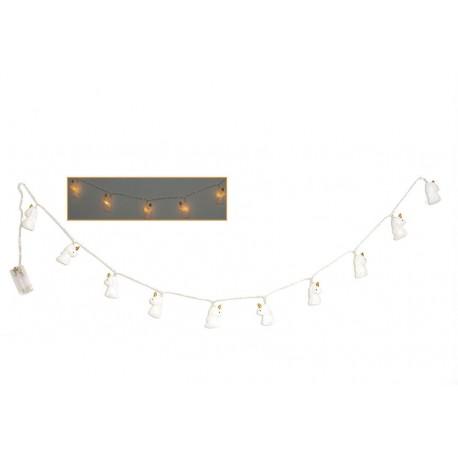 Guirlande lumineuse 10 LED Licorne 165 cm Faye