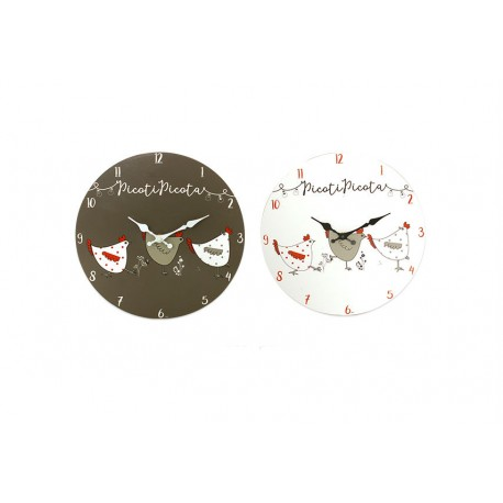 "Pendule ""Picota"" D30 cm Faye"