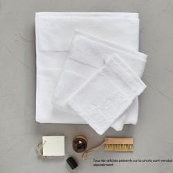 Serviette invité 30/50 cm blanche