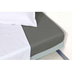 Drap housse percale 180 x 200 cm Manoir