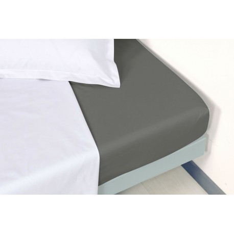 Drap housse percale 120 x 190 cm Manoir